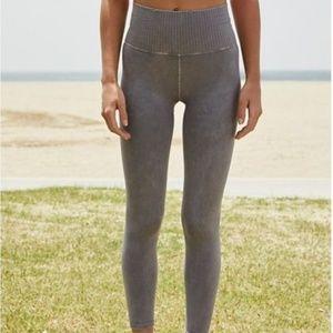 Free People Vintage- Shanti Purple Grey Leggings.